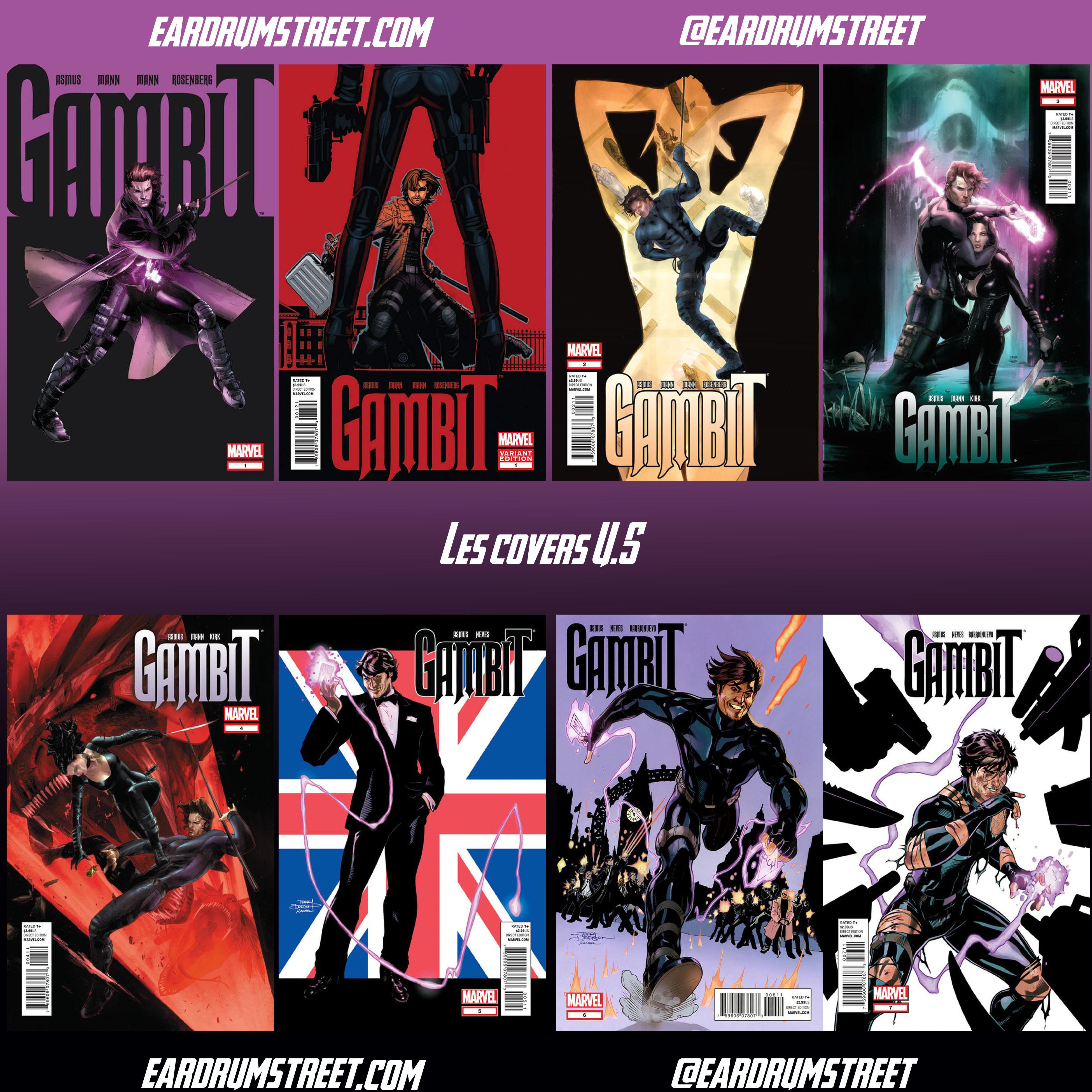 gambit en x men:
