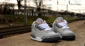 Air Jordan III (3) Cool Grey