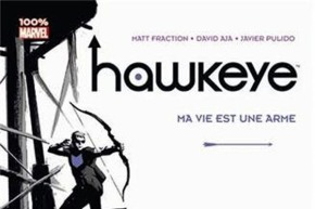 couverture Haweye vf 100% marvel Panini