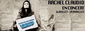 Concert: RACHEL CLAUDIO en concert au Festival des Arts Urbains de Versailles.