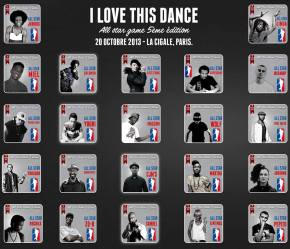 ILTD ALL STAR GAME - spectacle de danse urbaine à La Cigale - 20 octobre