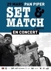 SET&MATCH  concert Paris